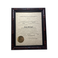 Boston Legal Prop - Jamie Stringer (The Practice) Attorney Certificate from the Commonwealth of Massachusetts