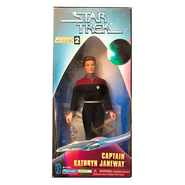 "Star Trek Voyager 9"" Action Figure Captain Janeway - Low Number"