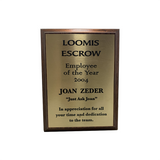 Boston Legal Prop - Joan Zeder Employee Of The Year 2004 Season 2: There's Fire