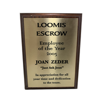 Boston Legal Prop - Joan Zeder Employee Of The Year 2005 Season 2: There's Fire