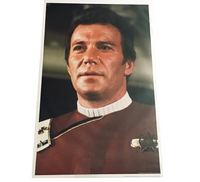 Poster Captain Kirk from Wrath of Khan Movie
