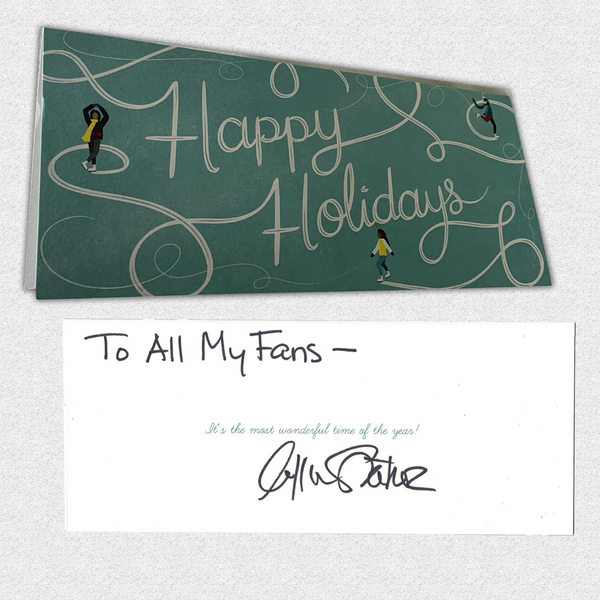 Charity: Own Mr. Shatner's Signed Holiday Card to his Fans
