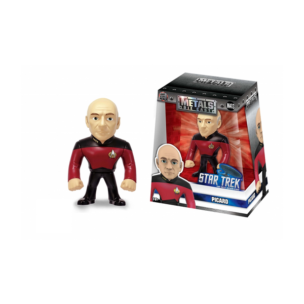 Jada Toys Metal Die Cast Star Trek Next Generation Picard Action Figure