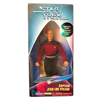 "Spencer Gifts Exclusive Captain Jean-Luc Picard 9"" Action Figure - Low Number"