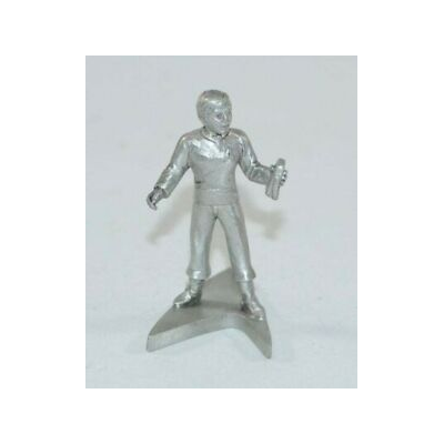 Rawcliffe 1993 Ensign Chekov Pewter Sculpture - Shatner Archives