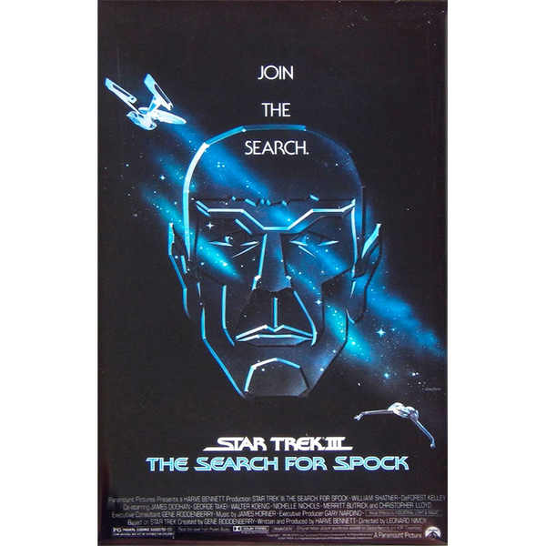 Black Friday Deal:  Star Trek The Search For Spock Movie Poster