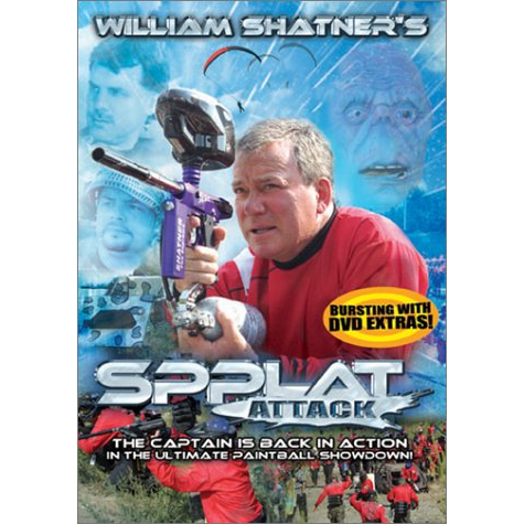 William Shatner's Spplat Attack DVD