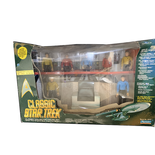 "Island of Misfit Toys - Vintage Classic Star Trek Collector Figure Set By Playmates ""Limited Edition"""