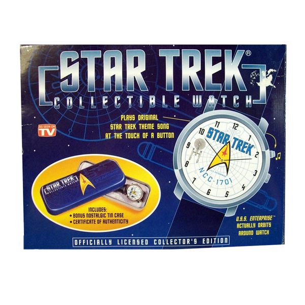 Vintage 1998 Star Trek Watch - As Seen on TV