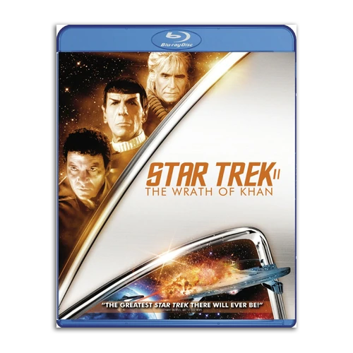 Star Trek II: The Wrath of Khan original Blu Ray Release - RARE