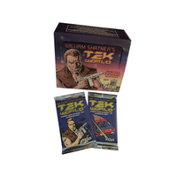William Shatner Tek World Factory Sealed Trading Card Pack