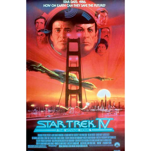 Star Trek The Voyage Home Movie Poster