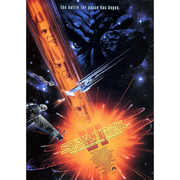 Star Trek The Undiscovered Country Movie Poster