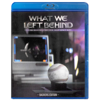 What We Left Behind: Backer Edition Region Free DVD plus Blu-ray set