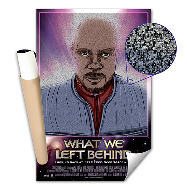 What We Left Behind - Backers Names - Sisko Poster