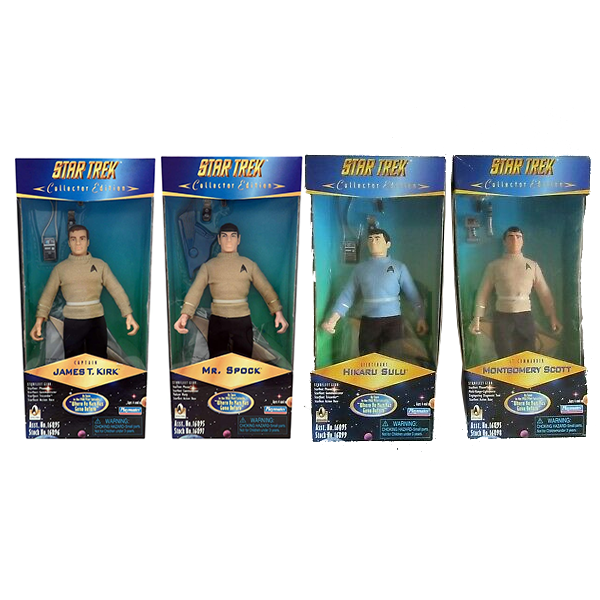 Target Exclusive Where No Man Has Gone Before Action Figure Set