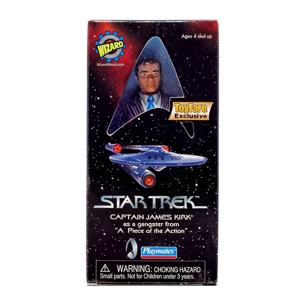 1999 Wizard World Exclusive Captain Kirk Piece of The Action Figure