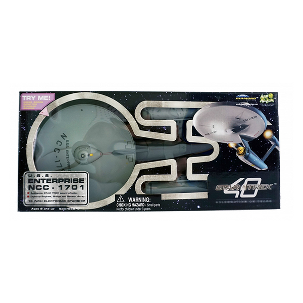 Rare: 2007 Art Asylum Star Trek 40th Anniversary Enterprise Ship
