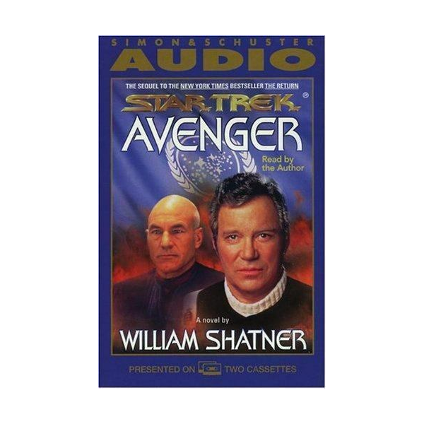 Shatner Archives: Avenger Audio Book Cassette Edition