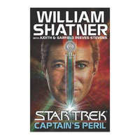 Shatner Archives - Captain's Peril Hardbound Book - First Edition
