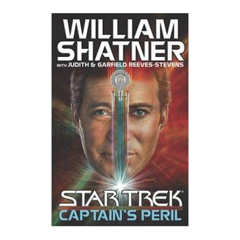 Isle of Misfit Toys:  Shatner Archives - Captain's Peril Hardbound Book - First Edition torn cover