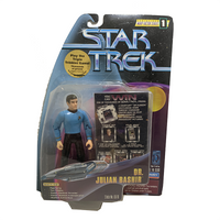 "Free Product - Deep Space Nine Doctor Julian Bashir 4.5"" Action Figure"