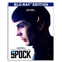 For The Love of Spock Blu Ray