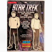 Shatner Archives - Illuminations Glow In The Dark Captain Kirk and Mr. Spock