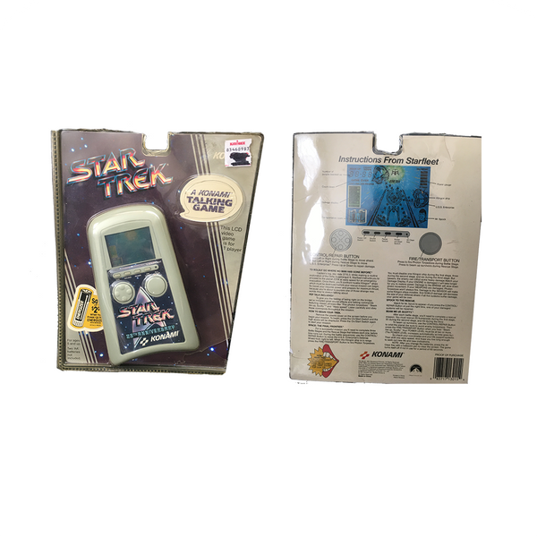 1991 Konami Star Trek 25th Anniversary Handheld Game