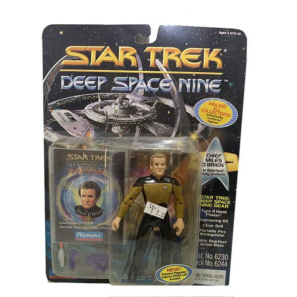 "Free Product - Deep Space Nine Chief Miles O'Brien 4.5"" Action Figure"