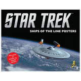 Star Trek: Ships of the Line Posters Hardcover Book