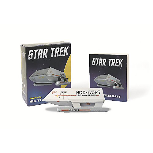Island of Misfit Toys: Star Trek: Light-Up Shuttlecraft Miniature and Book by Chip Carter