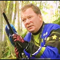 William Shatner Spplat Attack 2 - Cavalry Paintball Shirt