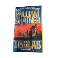 Shatner Archives: Tek Lab by William Shatner First Edition Paperback Ace Publishers