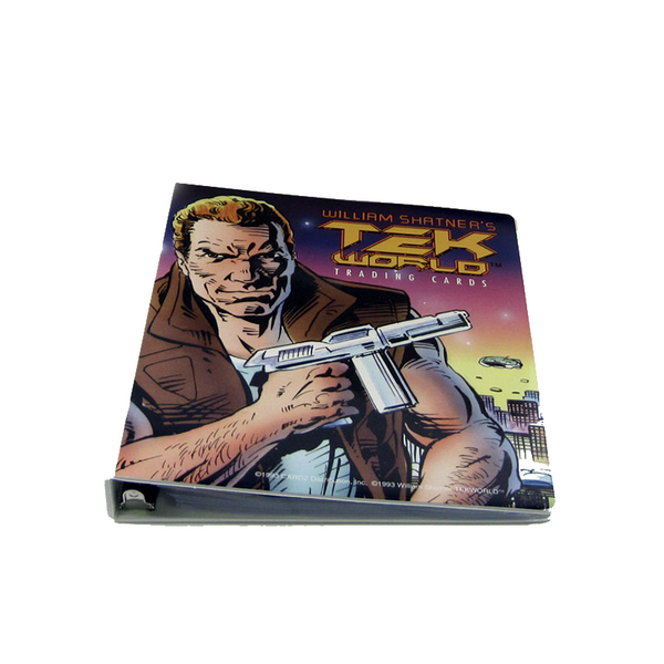 Shatner Archives: Tek World Binder and over 100 Tek World Cards