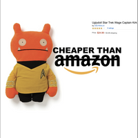Captain Kirk Ugly Doll by Gund