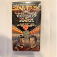 Shatner Archives: Mr. Shatner's Wrath of Khan Paperback Novel First Edition- Used by Mr. Shatner
