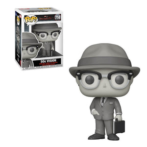Vision (WandaVision) - 50s Black and White Funko Pop **PRE-ORDER** (#714)
