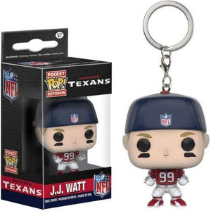 POCKET FUNKO KEYCHAIN: JJ Watt (NFL - Houston Texans)