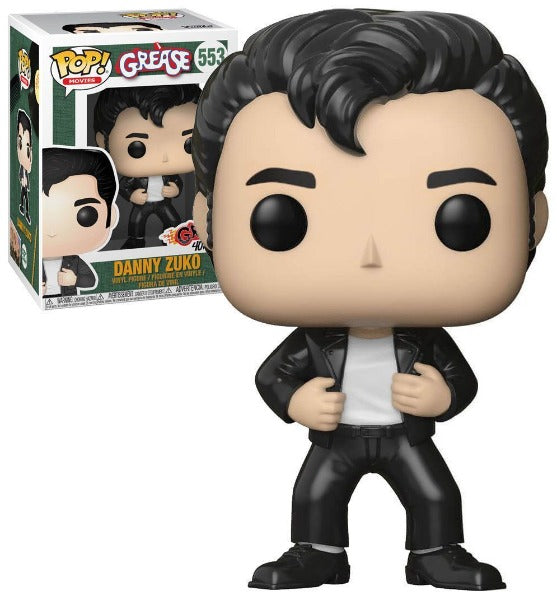 Danny Zuko (Leather) Funko Pop #533