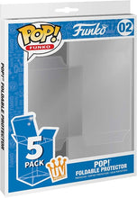 Load image into Gallery viewer, Foldable Funko Pop Protector Cases - 5 PACK