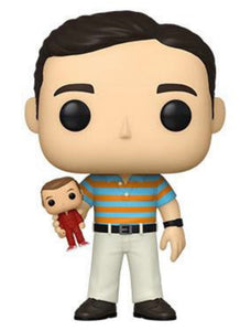Andy - Holding Oscar (40 Year Old Virgin) Special Edition CHASE Funko Pop #1064