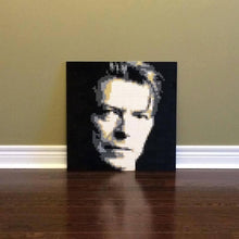 "Load image into Gallery viewer, Lego Mosaic ""David Bowie"" by Jack Ferdman w/COA"