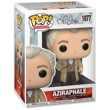 Load image into Gallery viewer, Aziraphale with Book (Good Omens) Funko Pop #1077