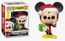 Load image into Gallery viewer, Holiday Mickey (w/present) Funko Pop #455