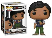 Load image into Gallery viewer, Raj Koothrappali (Big Bang Theory) Funko Pop #781