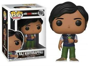 Raj Koothrappali (Big Bang Theory) Funko Pop #781