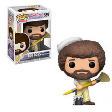 Load image into Gallery viewer, Bob Ross (w/paintbrush) Funko Pop #559