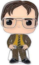 Load image into Gallery viewer, Large Enamel Funko Pop! Pin: The Office - Dwight Schrute #07