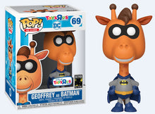 Load image into Gallery viewer, Geoffrey as Batman (Toys R Us) Special Edition Funko Pop #69